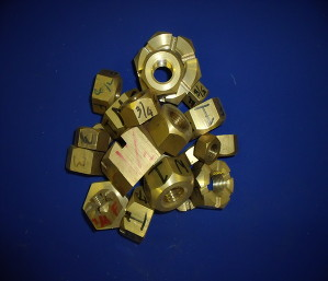 Buy Brass Hex Nuts online from FAL Propellers